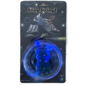 Bling StringZ LED Shoelaces Light In The Night